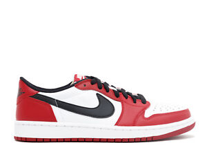 Details about 2016 Air Jordan 1 Retro Low OG Chicago Red black white  705329-600 size 8-13