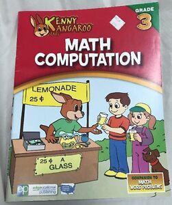 Details about Math Grade 3 Workbook Kenny Kangaroo Series National Standard  Homeschool Review