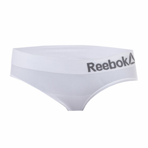 Womens Reebok Paige Seamless Sports Briefs In White