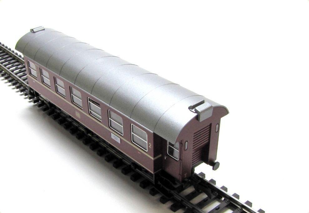 RICAMBIO-DB 2. Classe vagone completamente, ad esempio per Roco DB traccia b3y h0 1 87 - NUOVO