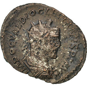 Billon Ef #64839 Cohen #228 40-45 Diocletian Antoninianus 2.60 Finely Processed