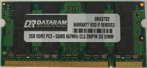 NEW 2GB Memory Module PC2-5300 SODIMM For Dell Inspiron 1420