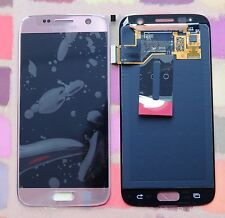 GENUINE PINK SAMSUNG SM-G930F GALAXY S7 SCREEN 2k LCD DISPLAY PLUS ADHESIVE