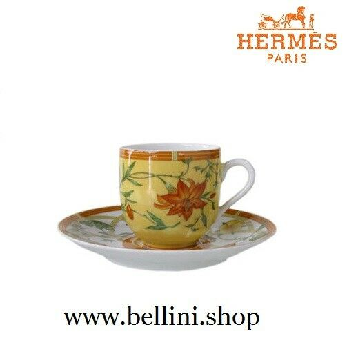 003117P Hermès Siesta - 2 pz Coffee cup and Saucer 10 cl   Tazze Caffè