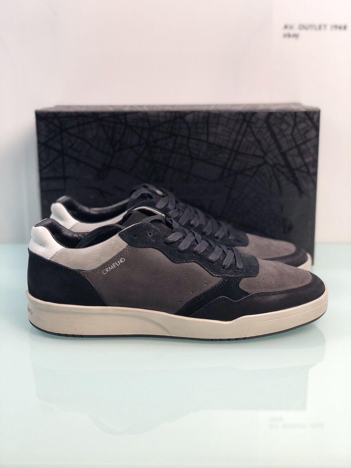 chaussure Crime London Herren Sportschuhe niedrig aus Veloursleder Modell 11503A