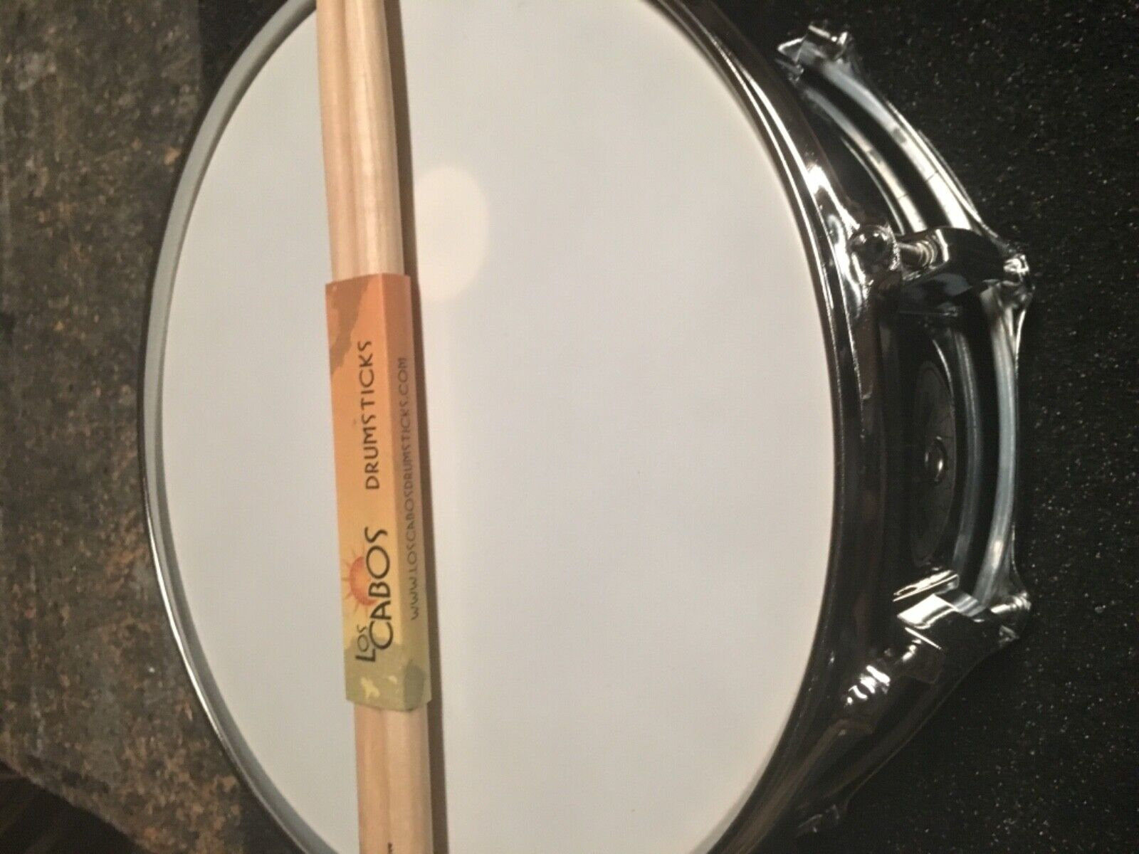 Savage chrome over steel snare drum - trevlig