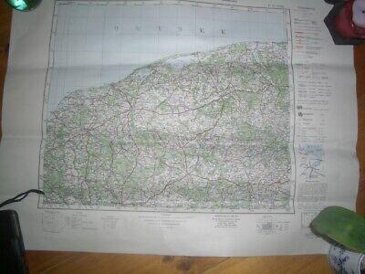 Alte Landkarte Deutsches Reich Pommern Stolp,lauenburg,pollnow,büto - Selten++