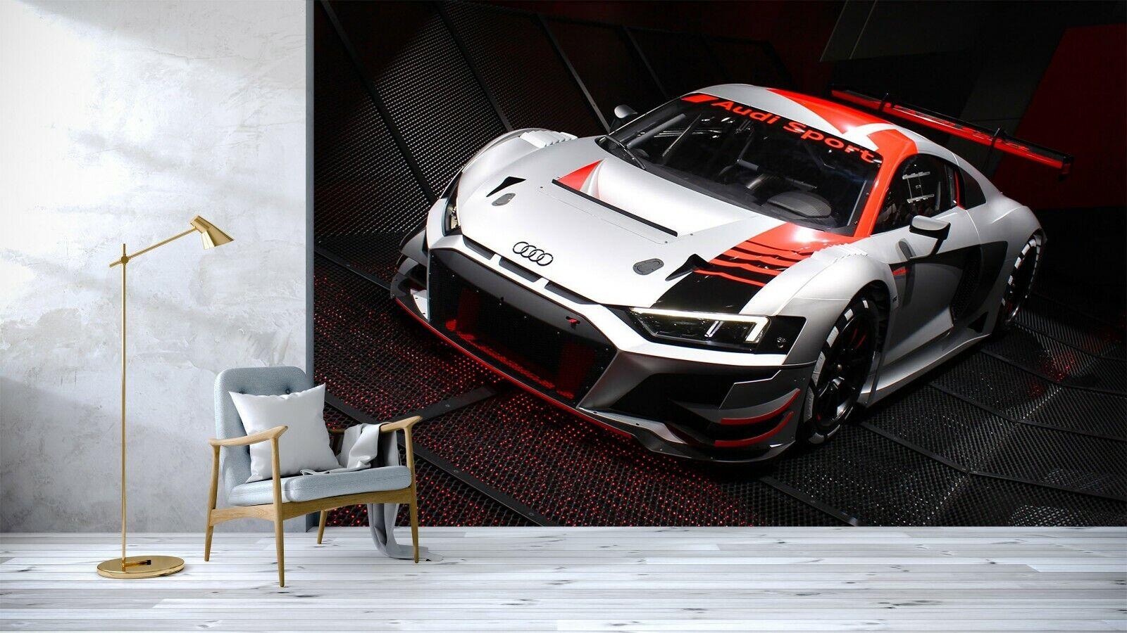 3D Luxusauto Q45 Auto Tapete Wandbild selbstklebend abnehmbare Acmy