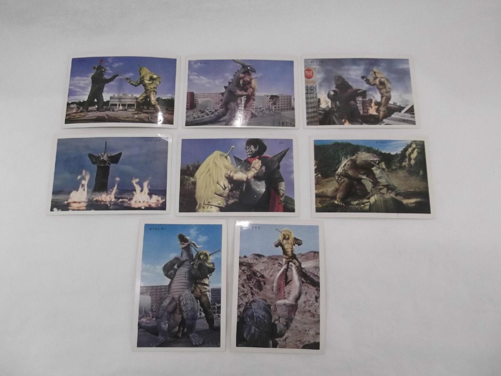 VINTAGE YAMAKATSU MAGMA TAISHI JAPANESE LARGE BROMIDE TRADING CARDS LOT OF 8