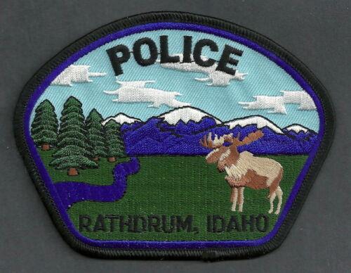 RATHDRUM IDAHO POLICE SHOULDER PATCH