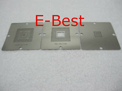 90x90 Play Station 3 PS3 CPU Reball Stencil Template
