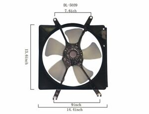 Engine-Cooling-Fan-Assembly-fits-1994-2001-Acura-Integra-APDI