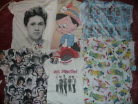 3 Primark Tshirts-choose From Listing-minions,pinocchio, Frozen,minnie Mouse Etc