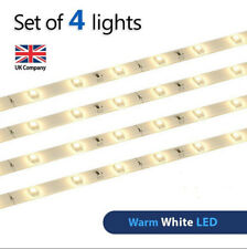 Pack Of 4 Minisun Plug In Led Strip Lights Under Kitchen
