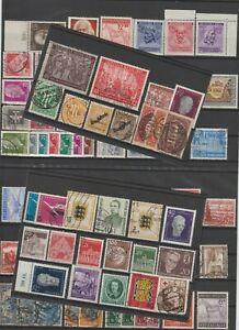 Germany Mint/used Stamp Collection x 88 .