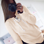 Women Lace Up V Neck Long Sleeve Casual Loose Pullover Hoodie Sweatshirt T Shirt