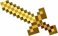 Minecraft Transforming Gold Sword To Pick Axe Role Play Fun