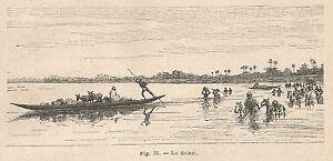 A2292 Lo Sciari - Xilografia - Stampa Antica Del 1895 - Engraving
