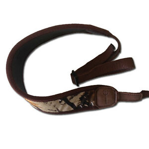 Neoprene-Camo-Gun-Sling-with-Finger-Hole-RIFLE-HUNTING-SHOOTING
