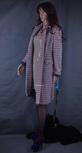 Dress Coat Wool Sm Sz Cashmere Mantel Feel Mohair Angora Look Silk Debenhams aEdqrPTd