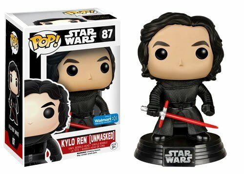 FUNKO Star Wars: The Force Awakens POP  Entlarvt Kylo Ren 87 Vinyl Bommel Kopf