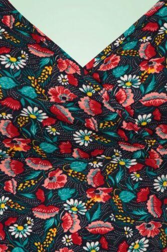 Louie Gina Floramania King Fleurs Color Robe zwqxBg