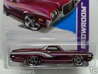 Hot Wheels 2013 1:64 Hot Trucks 1972 Ford Ranchero 163 Purple Pr5 Diecast Car