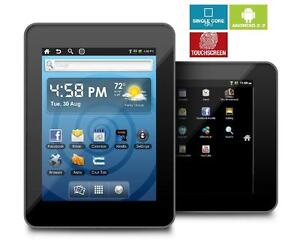 7 Zoll Tablet  ANDROID / 4:3 Seitenverhältnis Capacitive Display Android 2.2