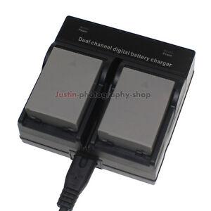 Dual-Charger-2x-1999mAh-Battery-for-Olympus-BLN-1-BCN-1-E-M5-E-P5-OM-D-E-M1-EM5