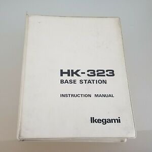 Ikegami-HK-323-Base-Station-Manual