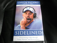 Chuck Pagano Signed - Sidelined First Printing Hardcover Nfl Indianapolis Colts