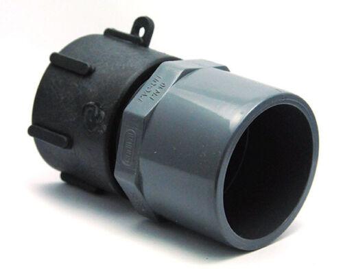 Raccord S60x6 femelle PVC femelle 63//75 pour cuve de 1000 litres eau pluie