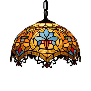 Baroque chandelier tiffany ceiling light colored glass restaurant image is loading baroque chandelier tiffany ceiling light colored glass restaurant aloadofball Images