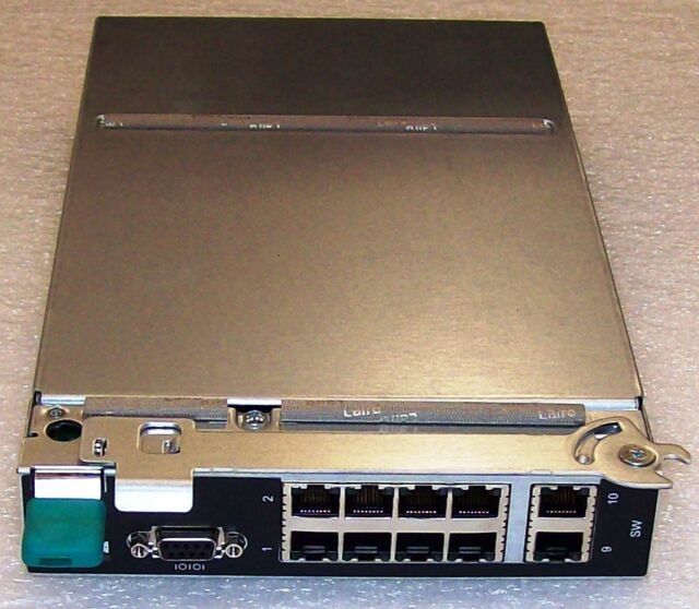 Intel AXXSW1GB Gigabit Ethernet Switch Module  Tested New Pull