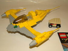 Lego Star Wars 7141 Naboo Starfighter con Oba sin minifig