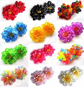 2pcs-Silk-Peony-4-034-Artificial-Flower-Heads-Fabric-Home-Wedding-decor