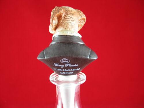 Goebel Aristo Dogs Porzellan Flaschenverschluß Edwin Spaniel deBrittany Poncelet