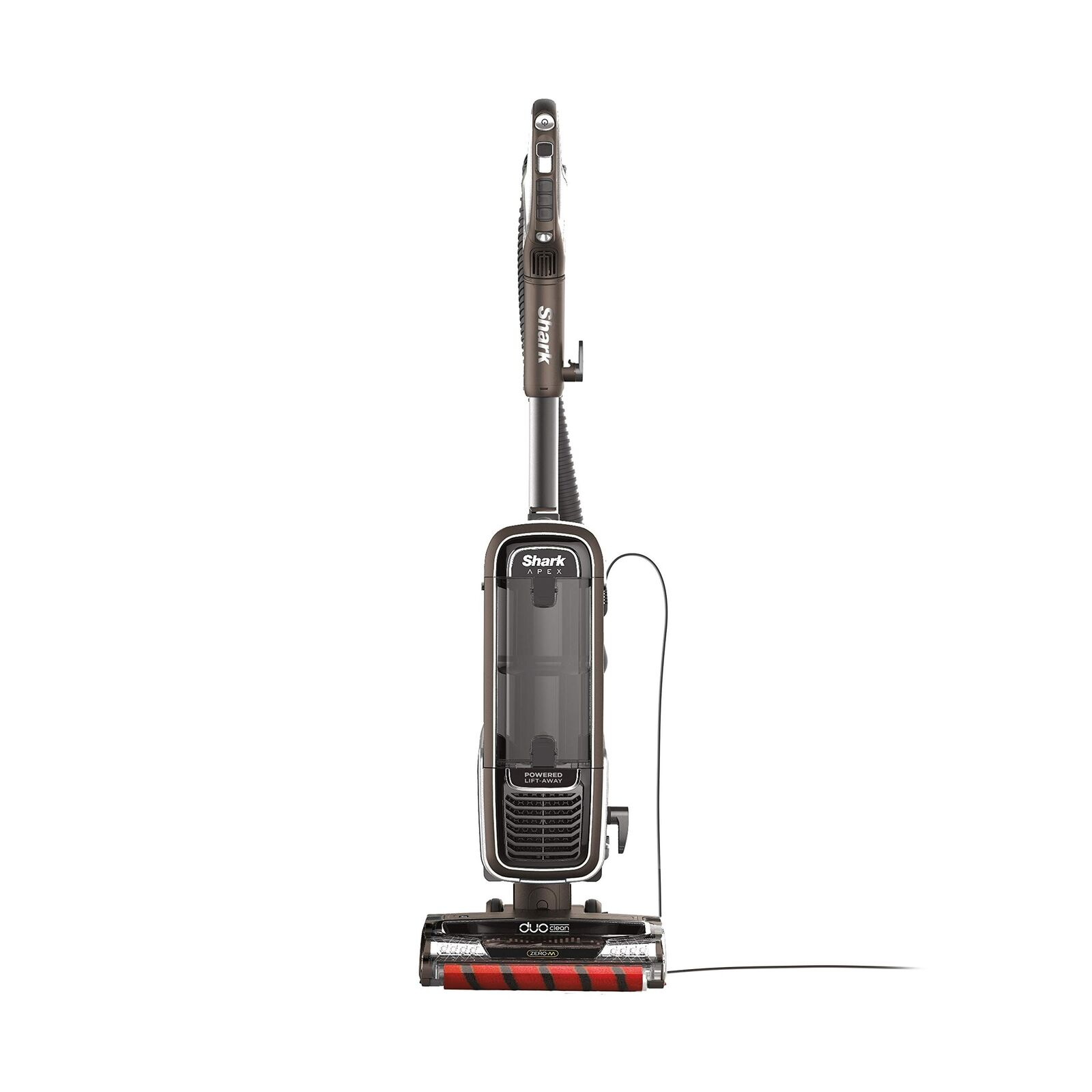 Shark APEX Upright Vacuum with DuoClean for Carpet and HardFloor Cleaning, Ze...