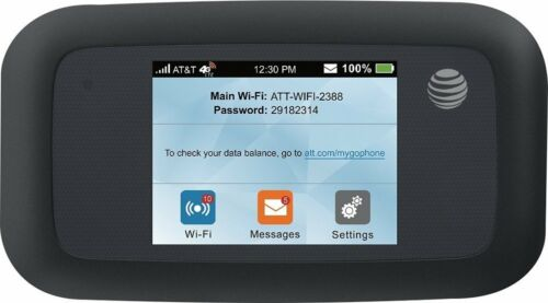 N//O GSM Unlocked Black ZTE Velocity MF923 4G LTE Mobile WiFi Hotspot