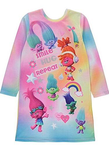 Trolls Girls Nightdress wear 2 ways Poppy Nightie 6-14 Years New