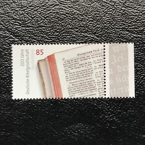 Alemania Federal año 2012 Bicentenario Sociedad Biblica Alemana  Nº 2727