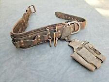 Vintage Bashlin Leather Tools Linesman Tool Belt Climbing Electric Pole Cosplay