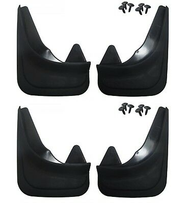 Front /& Rear Moulded Universal Fit Mudflaps Mud Flaps for Alfa Romeo 4 flaps