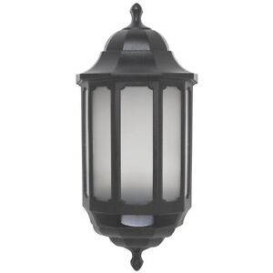 Asd led hi lo half lantern outdoor wall light with pir motion image is loading asd led hi lo half lantern outdoor wall aloadofball Image collections