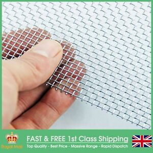 Galvanised Steel Mesh 8 Lpi 2 5mm Hole X 0 71mm Wire A1