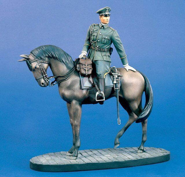 Verlinden 120mm (1 16) Mounted German Cavalry Adjutant in Parade Dress WWII 753