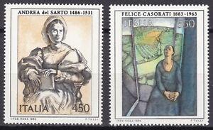 REPUBBLICA-ITALIANA-1985-ARTE-ITALIANA-XI-EMISSIONI