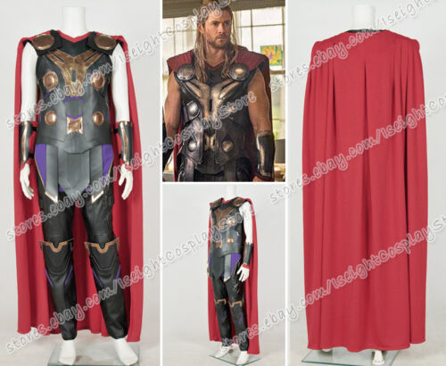 Avengers Age Of Ultron Thor Odinson Male Outfit Cosplay Costume Halloween Party