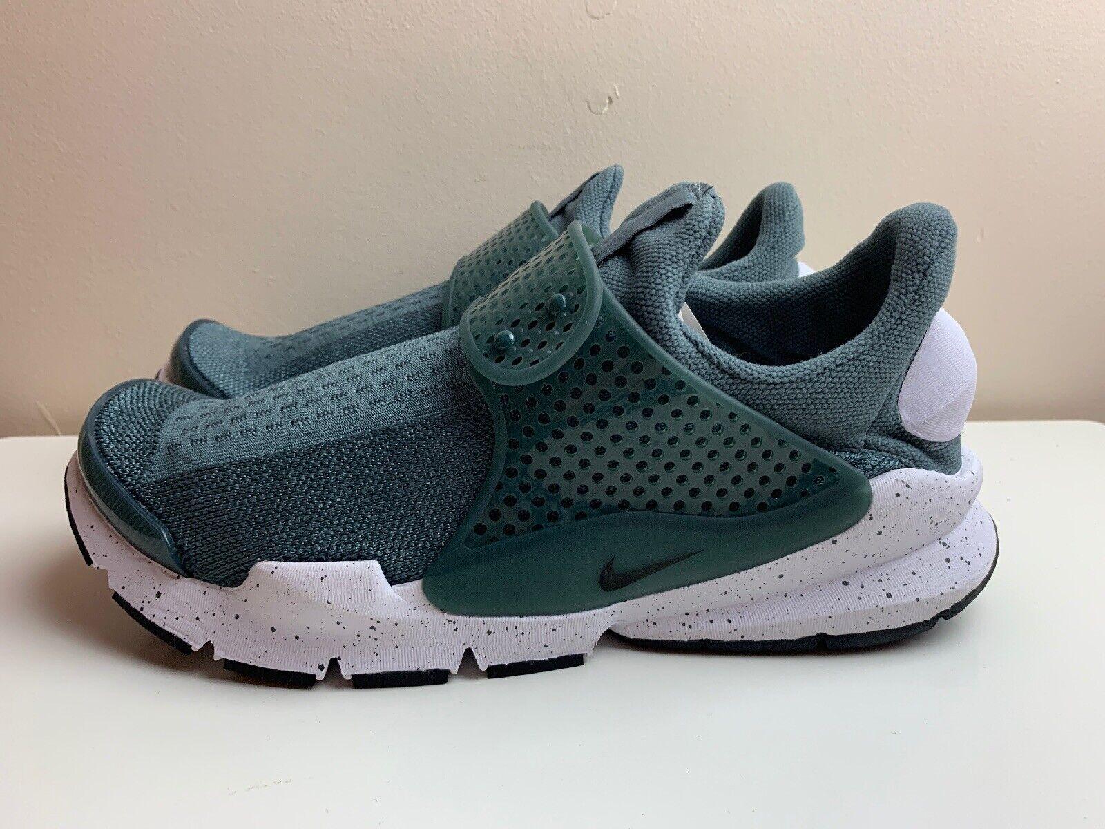 Nike Sock Dart se paniers Homme Vert Olive Blanc UK 8 EUR 42.5 833124 302