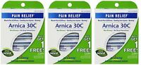 3 Pack Arnica 30c Great Value 3 Tubes Pack Boiron 9 Tubes Total on sale